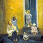 Children on Steps (courtesy of National Gallery)