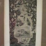 Naomi - linoprint