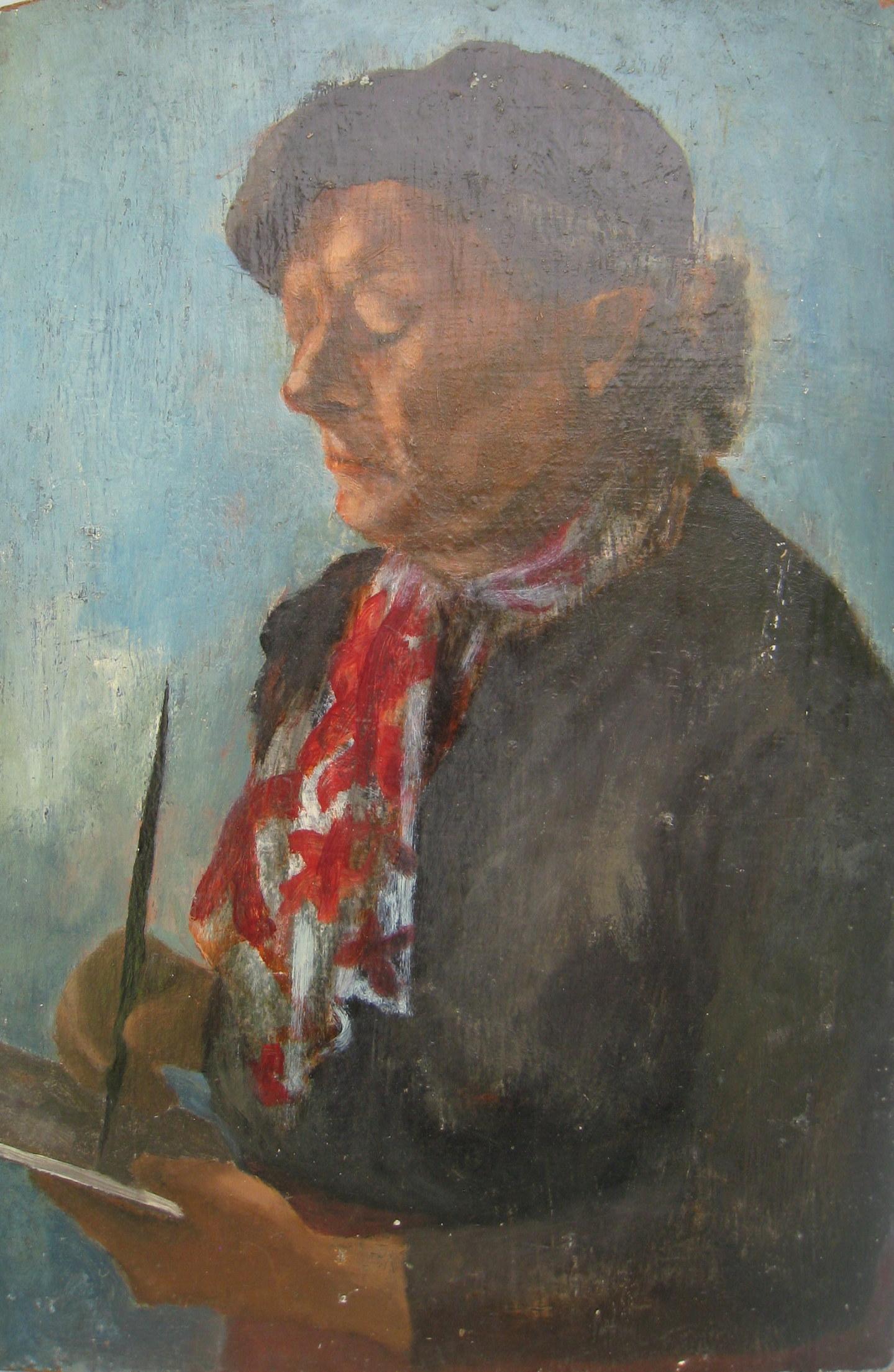 Portrait of Artist Unknown